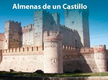 Almenas de un castillo