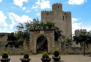 Barbacana de un castillo