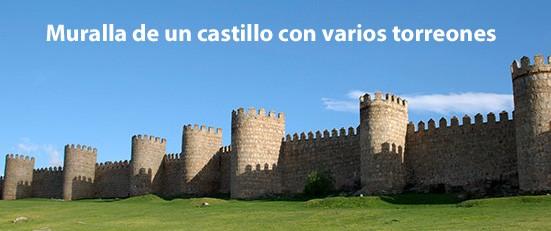 Muralla de un castillo