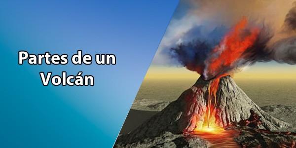 Partes de un Volcán