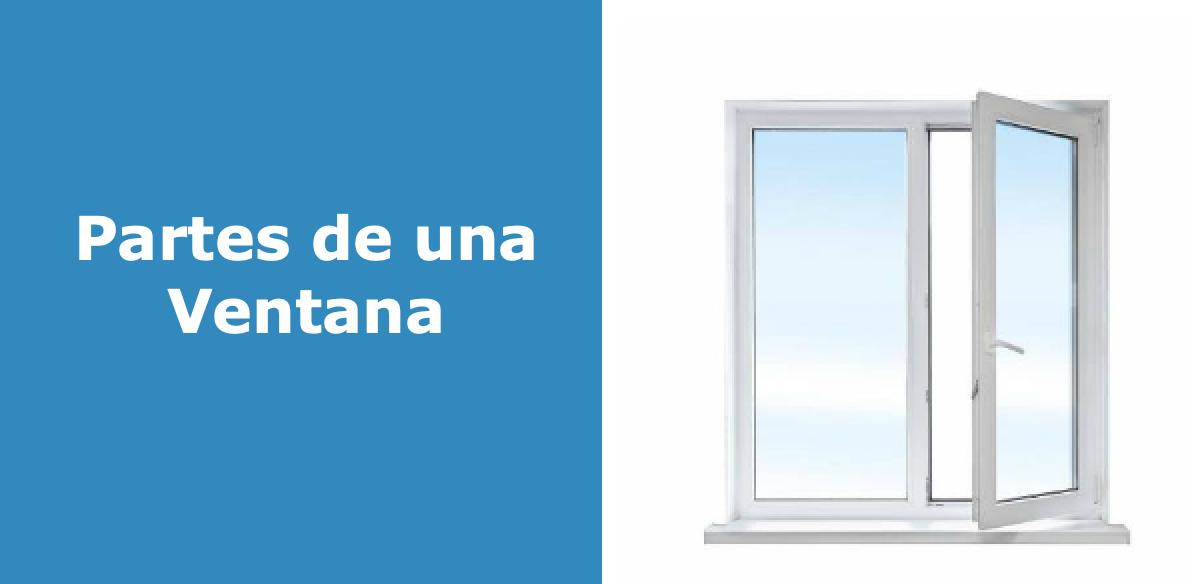 Partes de una ventana